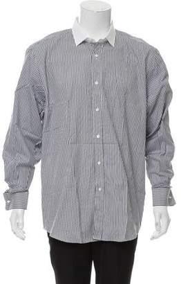 Ralph Lauren Black Label Striped French Cuff Dress Shirt
