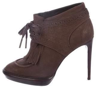 Burberry Platform Ankle Boots