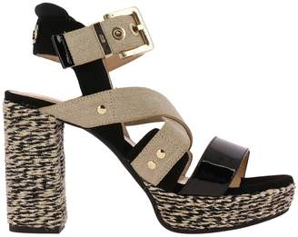 Paciotti 4Us Heeled Sandals Shoes Women