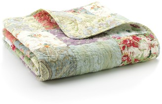 Blooming Prairie Quilted Throw
