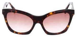 Derek Lam Gradient Tortoiseshell Sunglasses