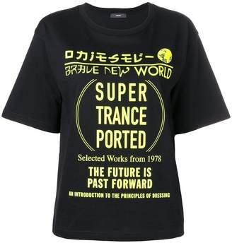Diesel monochrome print T-Shirt