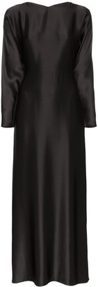 Deitas Demeter silk maxi dress