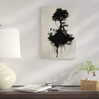 East Urban Home 'Last Tree Standing' Graphic Art Print on Canvas