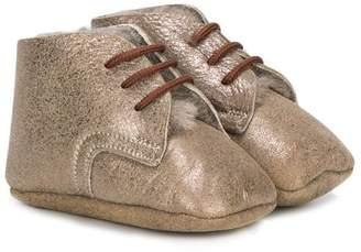 Pépé lace-up booties
