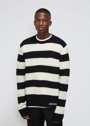 Calvin Klein Striped Crew Neck Sweater