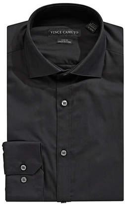 Vince Camuto Slim-Fit Solid Dress Shirt