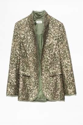 Zadig & Voltaire Verys Sequin Jacket