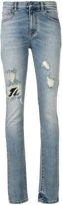 Faith Connexion faded distressed jeans