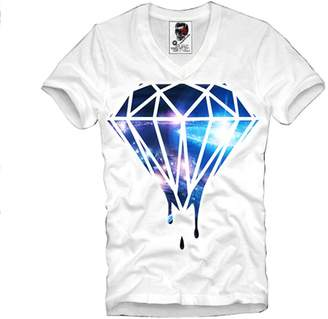 Hood by Air E1syndicate V-Neck T-Shirt Cosmic Diamond Supreme New Last Kings