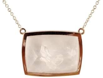 14K Rose Gold with 38.44ct Manifestor Quartz Crystal Necklace
