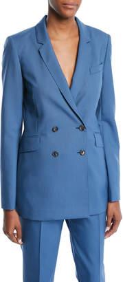 Gabriela Hearst Double-Breasted Wool Jacket