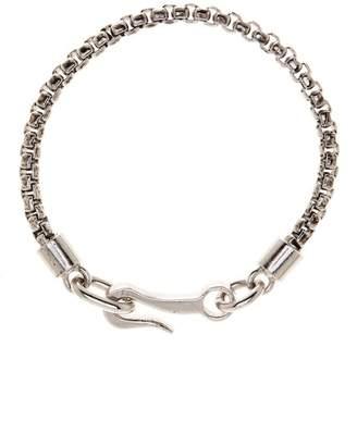 LINK-UP Metal Chain Hook Bracelet