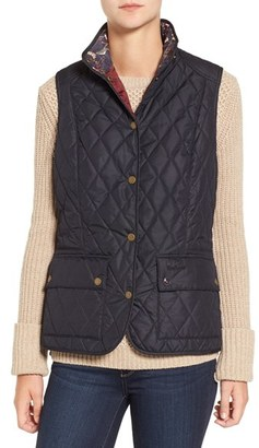 Women's Barbour 'Saddleworth' Quilted Vest $129 thestylecure.com