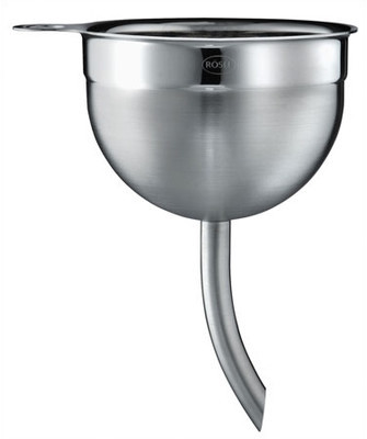 Rosle Stainless Steel .16 Quart Wine Decanting Funnel