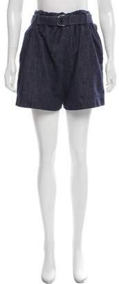 Brunello Cucinelli High-Rise Denim Shorts