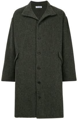 Bergfabel oversized single breasted coat