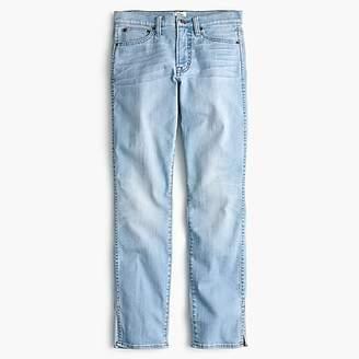 J.Crew Vintage straight jean with slit hems