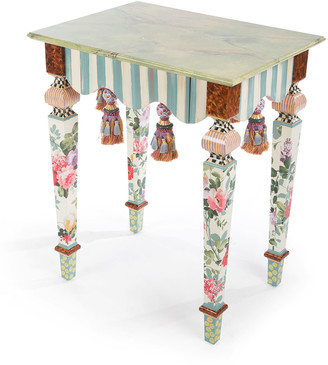 Mackenzie Childs Marble Side Table