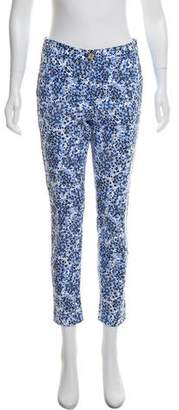 MICHAEL Michael Kors Skinny Floral Print Pants