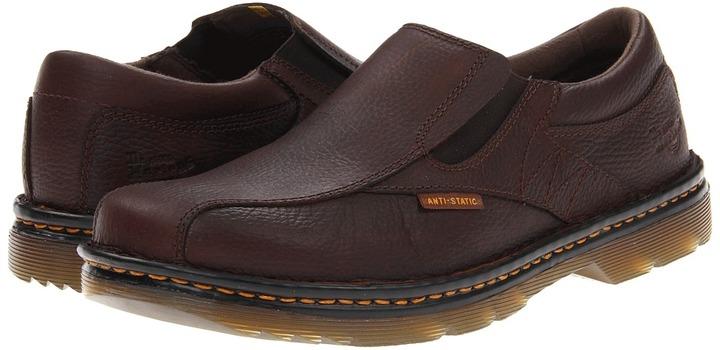 Dr. Martens Work - Norwich SD Slip On Shoe (Brown) - Footwear