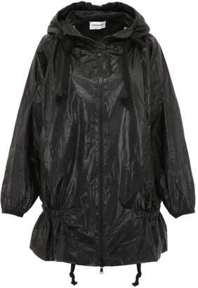 Scrambled Ego Oversized Raincoat