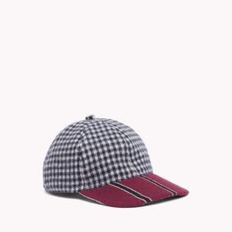 Tommy Hilfiger Check Stripe Baseball Cap
