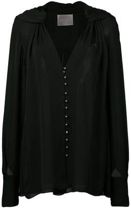 Jason Wu Collection sheer buttoned blouse