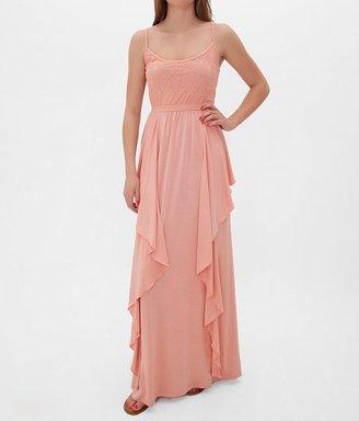 Fire Lace Bodice Maxi Dress $46 thestylecure.com
