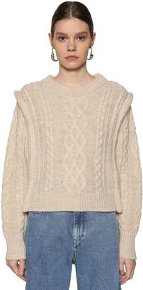 Etoile Isabel Marant TYLE WOOL CABLE KNIT SWEATER
