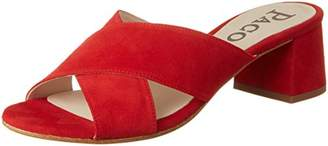 Paco Gil Women's P3221 Mules red Size :