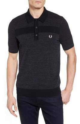 Fred Perry Crepe & Pique Polo