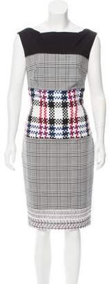 Talbot Runhof Sleeveless Knit Midi Dress w/ Tags