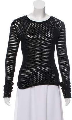 Yigal Azrouel Long Sleeve Knit Top