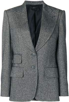 Tom Ford double-breasted tweed blazer