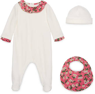 Baby three-piece daisy print gift set $465 thestylecure.com