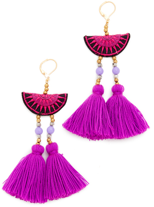 Shashi Camille Earrings $42 thestylecure.com