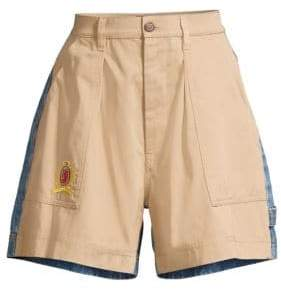 Tommy Hilfiger Collection Tommy Hilfiger Collection Women's Cargo& Denim Shorts - Cargo - Size 6