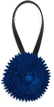 Loewe X William Morris Calendula Flower Bag Charm - Womens - Blue