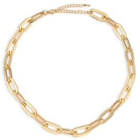Jules Smith Oversized Cable Link Necklace $75 thestylecure.com