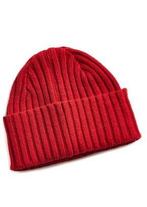Drakes Drake's Brushed Merino Wool Hat Red