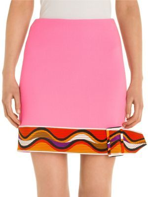 Emilio Pucci Belted Skirt
