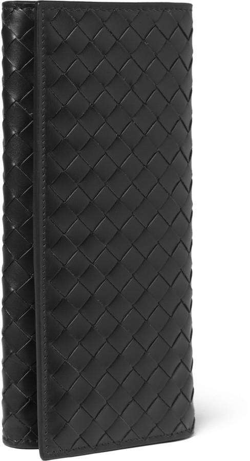 Bottega Veneta Intrecciato Leather Chest Pocket Wallet