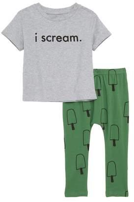 TINY TRIBE I Scream Tee & Leggings (Baby)