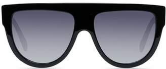 088d45bd0a Celine Women s Polarized Flat Top Aviator Sunglasses