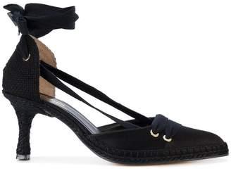 Castaner mid-heel espadrille pumps