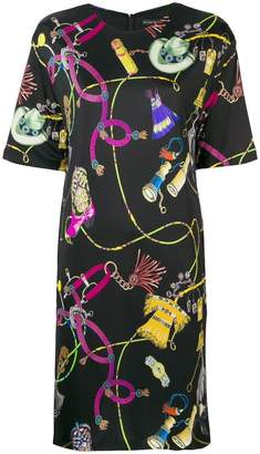 Etro Hewodor printed shift dress