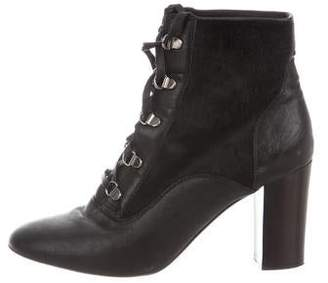 Lanvin Round-Toe Ankle Boots