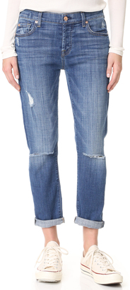 7 For All Mankind Josefina Destroyed Jeans $219 thestylecure.com