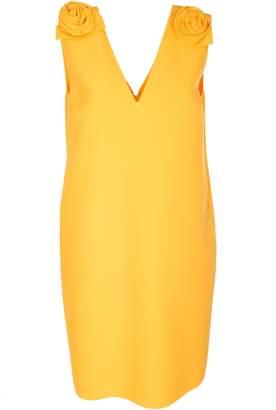 MSGM V-neck Sleeveless Dress
